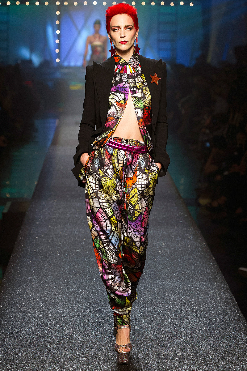 Jean paul gaultier spring 2013 collection laizaking for Jean paul gaultier clothing